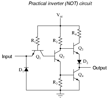 Simple Circuit Diagram Of Inverter | Lessons In Electric Circuits Volume Iv Digital Chapter 3